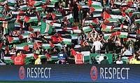Protesta 'umanitaria' dei tifosi  Celtic: 100mila euro per la Palestina