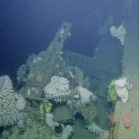 Usa, un aereo da guerra sul relitto: da 65 anni in fondo all'oceano
