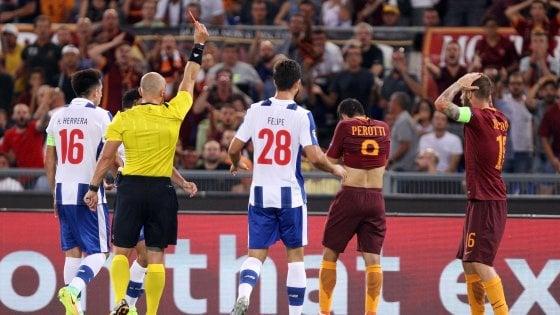Roma-Porto 0-3: disastro giallorosso, addio Champions