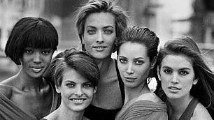 Uma, Naomi, Cindy e Julianne In mostra le donne di Lindbergh