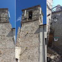 Castelluccio, sisma colpisce i due campanili