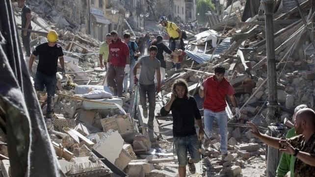 Terremoto centro Italia (24 agosto '16)