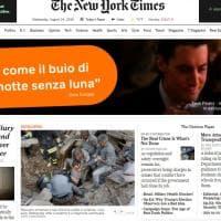 Terremoto nel Centro Italia, la notizia del sisma sui siti stranieri