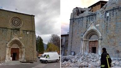 Danni anche a chiese e palazzi antichi  transennato il Duomo di Urbino