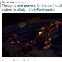 Terremoto, #PrayforItaly: la solidarietà da tutto il mondo per le vittime