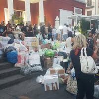 Terremoto, la mappa della solidarietà in Campania