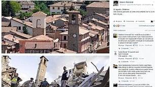 Pausini, Morandi, Zuckerberg I messaggi per le città distrutte
