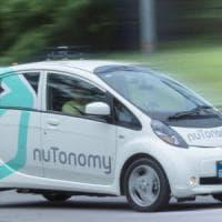 In test a Singapore il taxi che si guida da solo