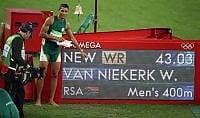Nonna Ans, signora dei record 'Van Niekerk e il suo mondiale'