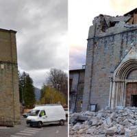Terremoto, emergenza per i beni culturali: danni e crolli nel Centro Italia
