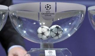 Champions, sorteggio ok: Juve con Siviglia e Lione, il Napoli pesca Benfica e Besiktas