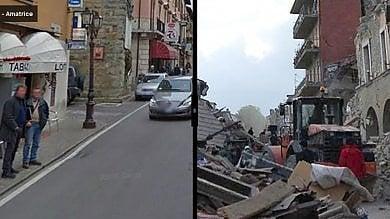 I luoghi del terremoto, prima e dopo