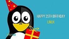 Linux compie 25 anni, lunga vita all'open source