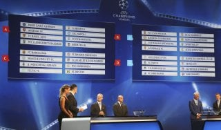 Champions, Juve e Napoli sorridono: evitate le big