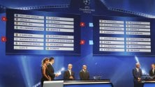 Sorteggio: la Juve pesca Siviglia, Lione e Zagabria  Il Napoli con Benfica, Dinamo Kiev e Besiktas