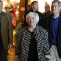 Borse deboli prima del discorso di Janet Yellen a Jackson Hole