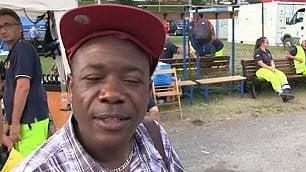 """Louis, il parroco di Arquata dal Congo: """"La chiesa è distrutta"""""""