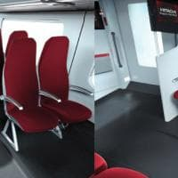 Look made in Italy e wifi: ecco i nuovi treni regionali
