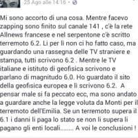 Le bufale sul terremoto del Centro Italia
