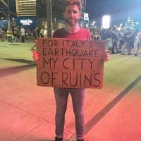"""Terremoto, l'omaggio di Springsteen con """"My city of ruins"""""""