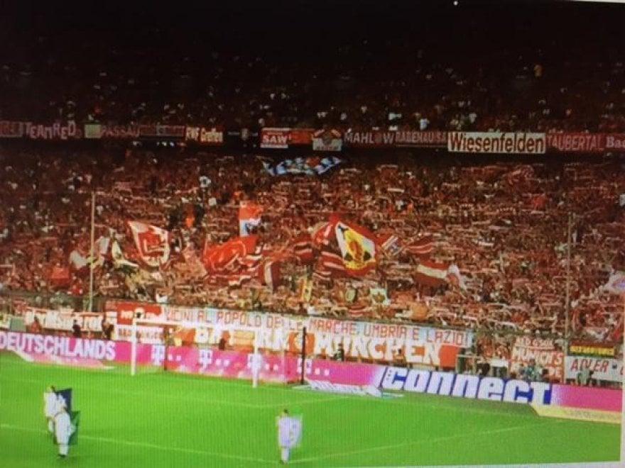 Terremoto, Germania: striscione dei tifosi del Bayern Monaco per le vittime del sisma