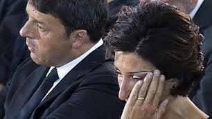 Il pianto a dirotto di Agnese Renzi