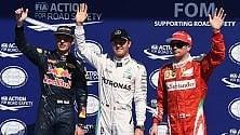 Rosberg si prende la pole Ferrari in seconda fila Hamilton parte ultimo