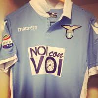 Terremoto, la maglia speciale della Lazio: ''Noi con Voi''