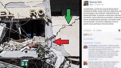Gherardo Gotti, l'ingegnere che segnala  i lavori sospetti su Facebook  le immagini