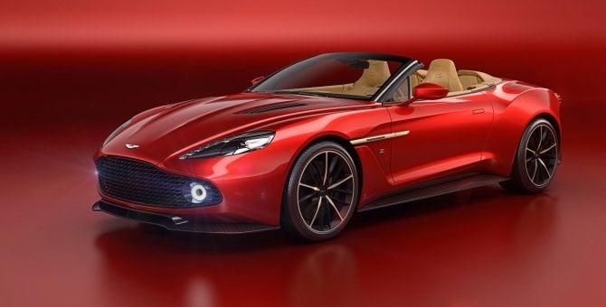 Vanquish Zagato Volante, L'Aston Martin vola alta