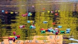 Le barchette dei sogni: desideri che galleggiano in darsena