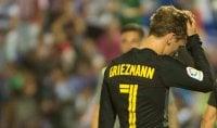 Griezmann scuote Atletico ''Sveglia o retrocediamo''