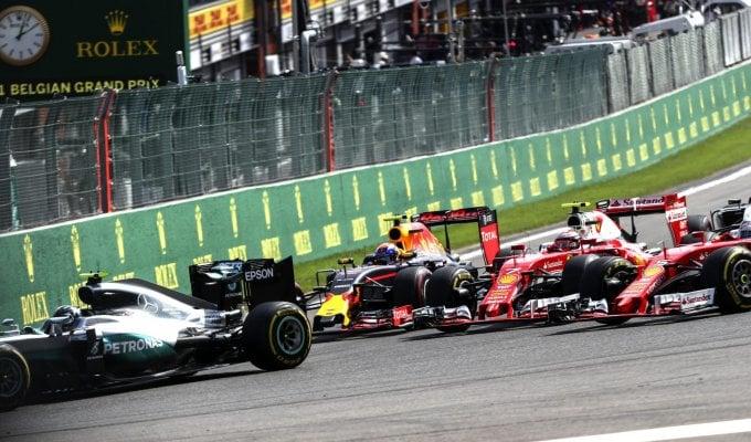 A Spa vince Rosberg Hamilton 3°, Vettel 6°