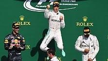 Rosberg domina a Spa Magnussen si schianta  a 300 all'ora: sta bene   ft     Flop Ferrari , no podio    ft