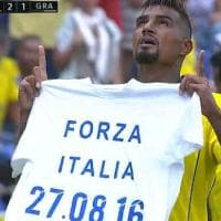 Liga: Boateng, un gol per l'Italia