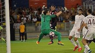 Roma sciupona: 2-2 a Cagliari Volano Sassuolo e le genovesi    Video  Tutti i gol della giornata