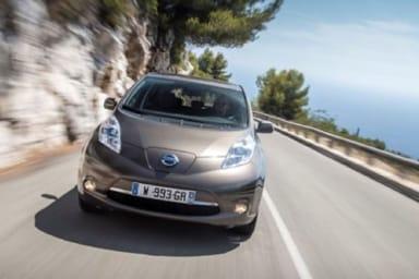 Nissan Leaf, l'Europa in tasca