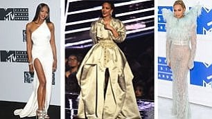 Rihanna, Beyoncé e le altre i look agli Mtv Awards
