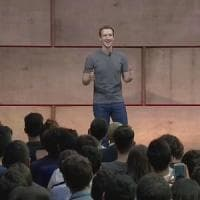 Mark Zuckerberg a Roma: