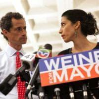 Usa,  principale consigliera di Hillary Clinton si separa dal marito per