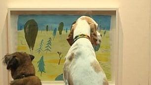 Arte da cani: la prima mostra dedicata agli amici a 4 zampe
