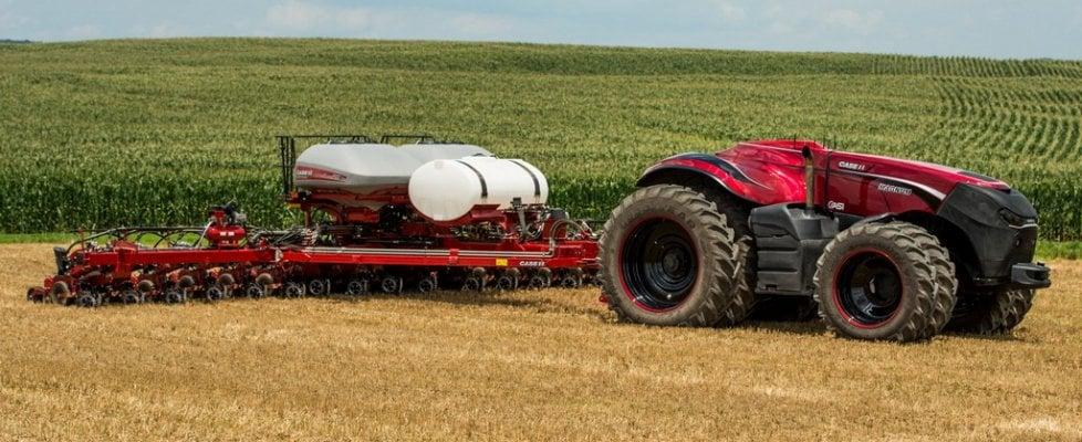 Rivoluzione CNH Industrial: trattore a guida autonoma
