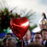 Terremoto, funerali solenni ad Amatrice: il fotoracconto