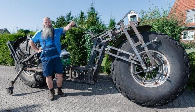 Una bici da 940 chili