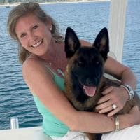 Usa: cagnolina cade dalla barca e nuota per 6 miglia per ritrovare la sua famiglia