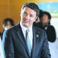 Vertice Italia-Germania, Renzi accoglie cancelliera Merkel