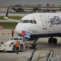 Usa-Cuba: parte dalla Florida il primo volo commerciale dal 1961