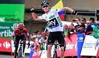 Froome vince a Peña Cabarga Quintana secondo e contento