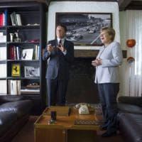 """Vertice Italia-Germania, Merkel: """"Su spese terremoto troveremo una soluzione ragionevole"""""""