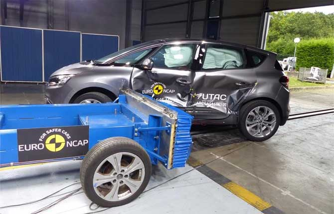 Crash test Euro NCAP 2016, pioggia di stelle